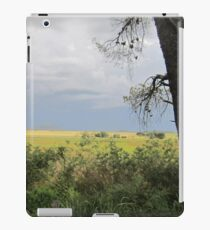 Tree and fence iPad Case/Skin
