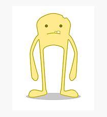 Yellow Blockhead Photographic Print