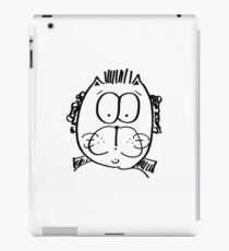 Kitten up front... Party in the back!!! iPad Case/Skin