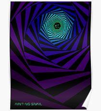Trippy Psytrance Illusion Poster