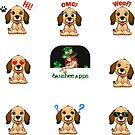 Funny Dog Sticker Pack Collection Part 4 by Banshee-Apps