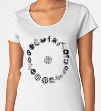 Internet Women's Premium T-Shirt