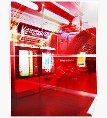 Red Metro Poster