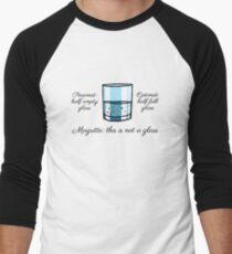 Magritte!! Men's Baseball ¾ T-Shirt