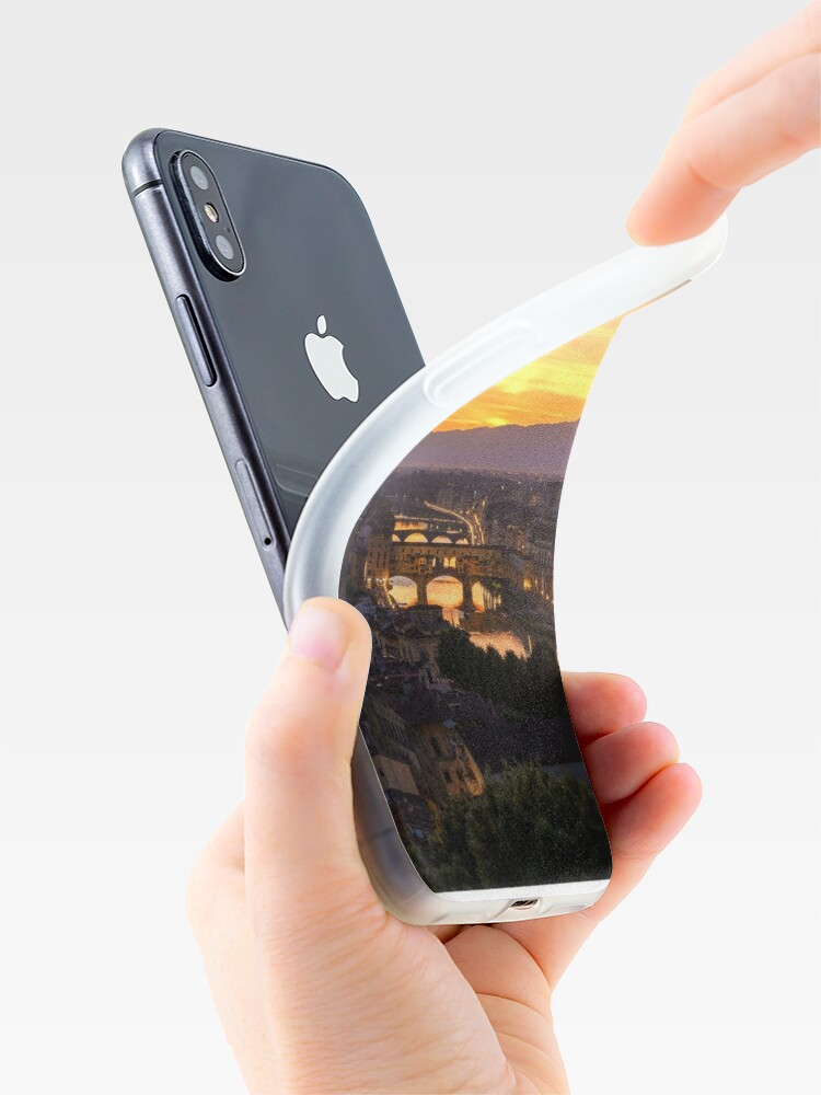 Vista alternativa de Funda y vinilo para iPhone Florence