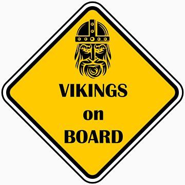 Vikings on Board by Hangagud