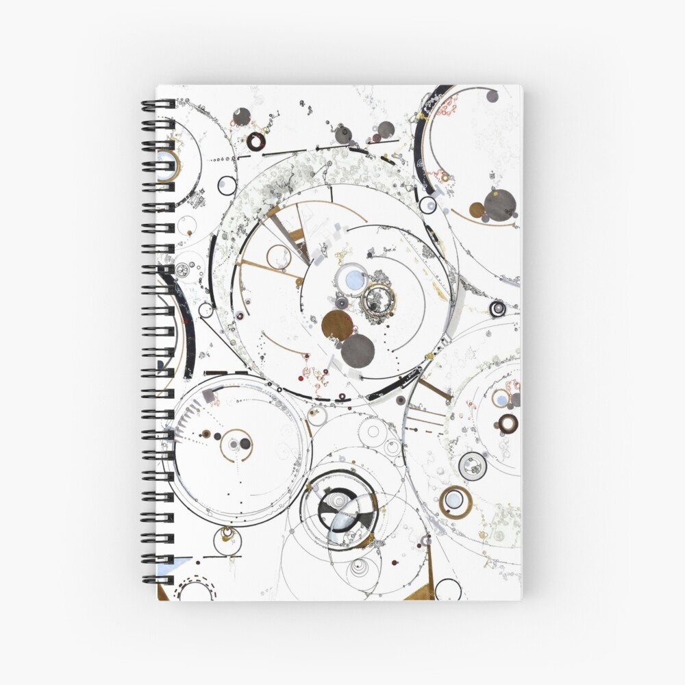 Synchronicity Spiral Notebook