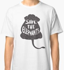 Save the Elephants  Classic T-Shirt