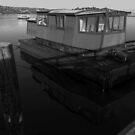 Artist's Studio at Sausalito Docks by Igor Pozdnyakov