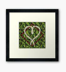 Heart of Daisies Framed Print