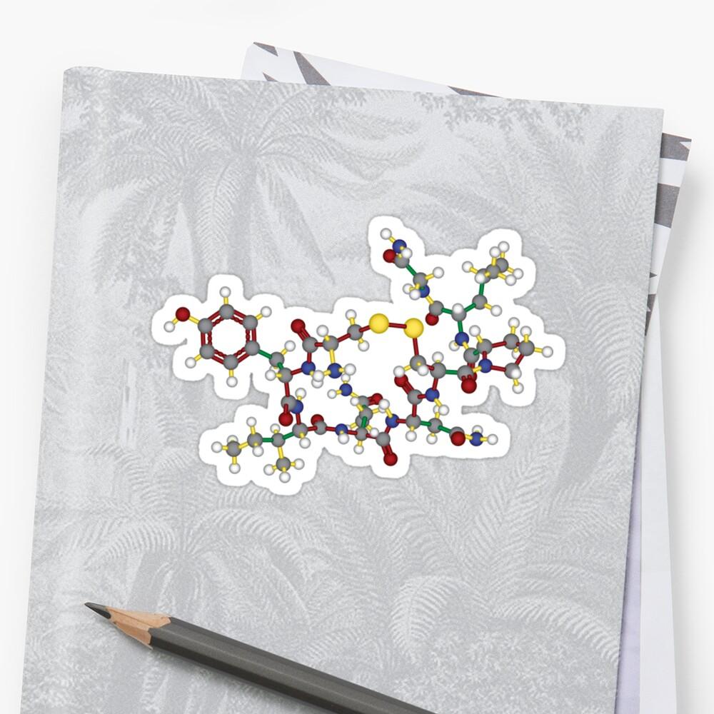 Oxytocin - 3D Sticker