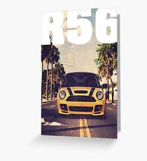 Cooper R56 Palm Beach & quot; Greeting Card