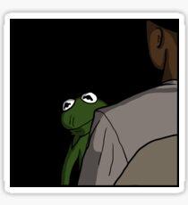 Kermit sings Usher Sticker