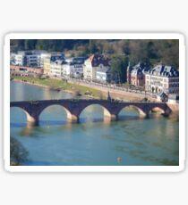 Bridge on the Neckar Sticker