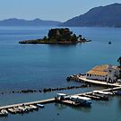 Vlacherna Church. Island of Corfu, Greece by Igor Pozdnyakov