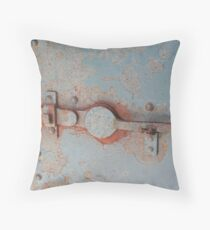 """Door Latch"" Throw Pillow"