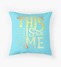 (No Apologies) This is Me - Horizontal Throw Pillow