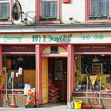 Doyles Grocery Pub, Graiguenamanagh, County Kilkenny, Ireland by AndyJones