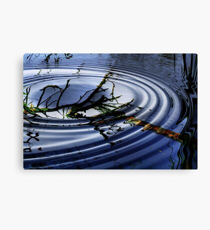 RIPPLED  WATERS Canvas Print