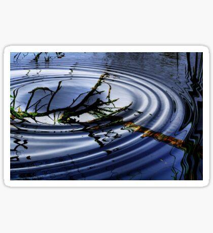 RIPPLED  WATERS Sticker
