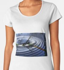 RIPPLED  WATERS Women's Premium T-Shirt