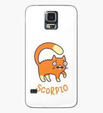 Funny Scorpio Cat Horoscope Tshirt - Astrology and Zodiac Gift Ideas! Case/Skin for Samsung Galaxy