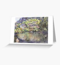 Cromford Pond Greeting Card