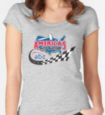 AmericasAutoAuction Women's Fitted Scoop T-Shirt