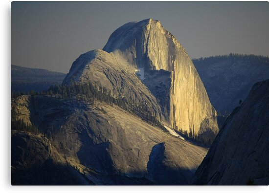 Half Dome At Sunset by Stephen Vecchiotti