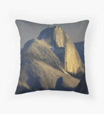 Half Dome At Sunset Throw Pillow