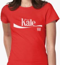 Enjoy Kale Women's Fitted T-Shirt