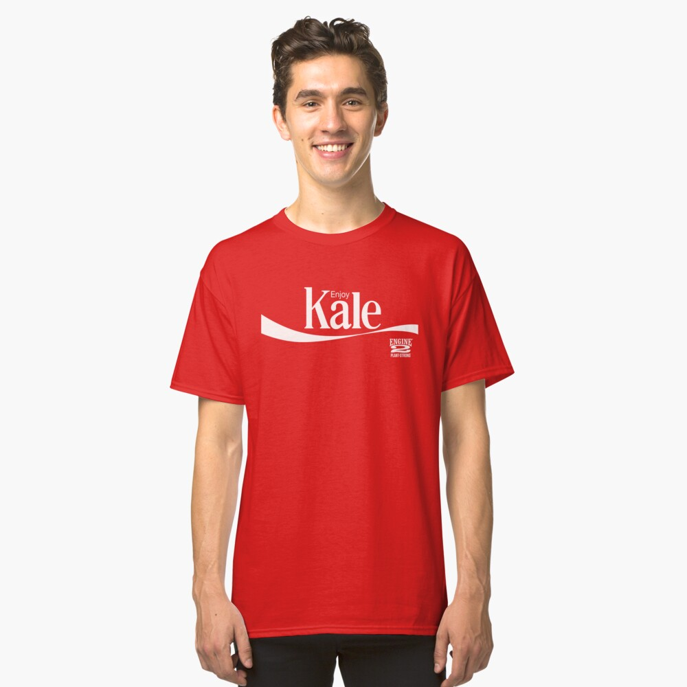 Enjoy Kale Classic T-Shirt Front