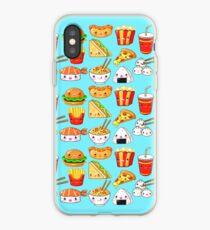 Kawaii Foods Pattern iPhone Case