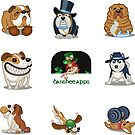 Funny Dog Sticker Pack Collection Part 3 by Banshee-Apps