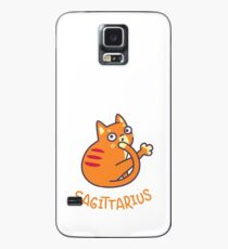 Funny Sagittarius Cat Horoscope Tshirt - Astrology and Zodiac Gift Ideas! Case/Skin for Samsung Galaxy