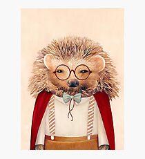Harry Hedgehog Photographic Print