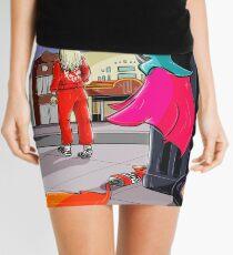 Paramore Idle Worship Design Mini Skirt