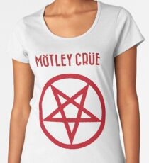 Mötley Crüe SHOUT AT THE DEVIL Premium Scoop T-Shirt