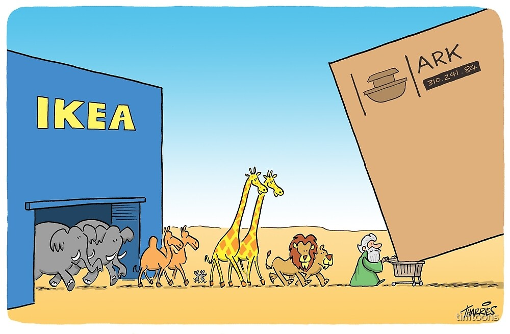 ikea ark by timtoons redbubble. Black Bedroom Furniture Sets. Home Design Ideas
