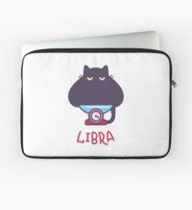 Funny Libra Cat Horoscope Tshirt - Astrology and Zodiac Gift Ideas! Laptop Sleeve
