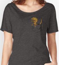 Pocket Raptor T-Shirt Women's Relaxed Fit T-Shirt