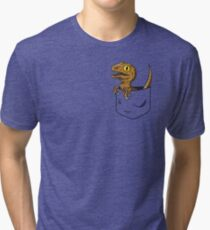 Pocket Raptor T-Shirt Tri-blend T-Shirt