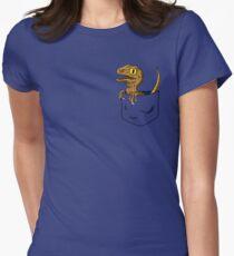 Pocket Raptor T-Shirt Women's Fitted T-Shirt