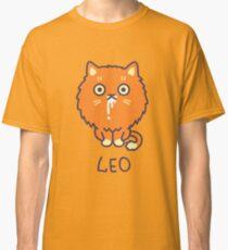 Funny Leo Cat Horoscope Tshirt - Astrology and Zodiac Gift Ideas! Classic T-Shirt