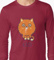 Funny Leo Cat Horoscope Tshirt - Astrology and Zodiac Gift Ideas! Long Sleeve T-Shirt