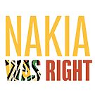 Nakia Was Right - Isolated pattern by monarchvisual