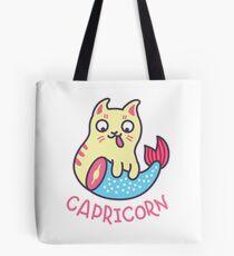 Funny Capricorn Horoscope Tshirt - Astrology and Zodiac Gift Ideas! Tote Bag