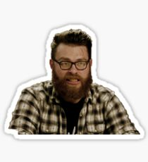 Travis McElroy - MBMBaM - TAZ Sticker