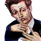 Portrait of Egon Schiele by Alma Lee
