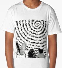 junji ito circle sky Long T-Shirt